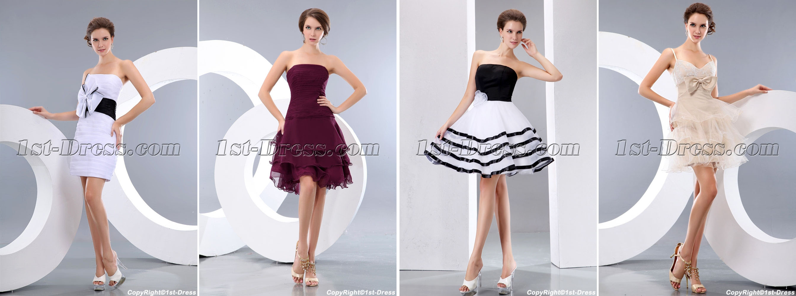 Terrific-White-and-Black-Organza-Mini-Short-Prom-Gowns-4163-b-1-1389977661