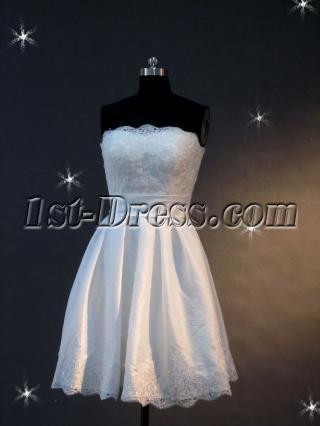 2012 Informal Short Wedding Dresses IMG_2131