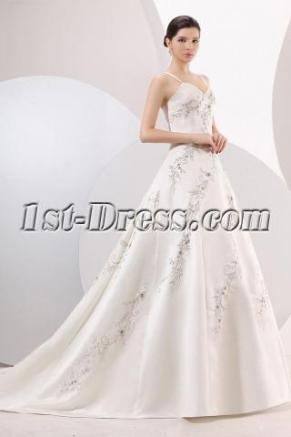 2013 Long wedding dresses cheap 80001