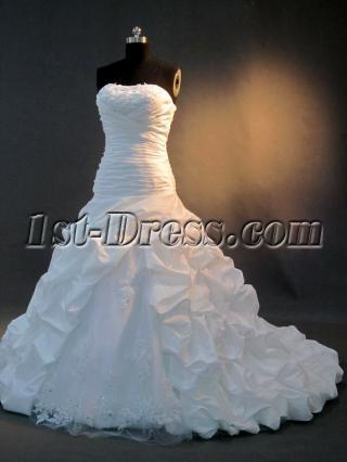 Classical Elegant Wedding Dresses IMG_2904