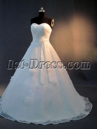 Foral Elegant Classic Wedding Gowns IMG_2908