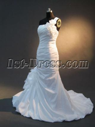 Mermaid Silhouette Bridal Gowns IMG_2472