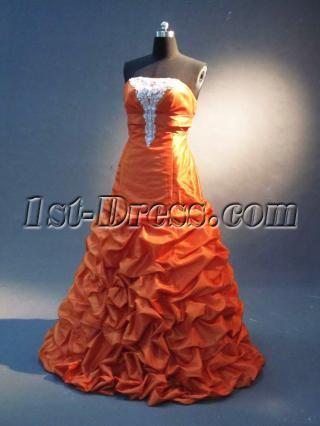 Orange Plus Size Quince Dress IMG_2302