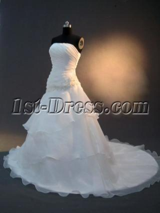 Sweetheart A-line Traditional Mature Bridal Gown IMG_2499