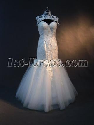 Wedding Gowns for Slim Brides with Jacket IMG_2883