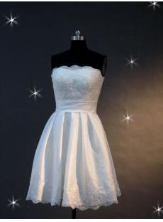 2012 Informal Short Wedding Dresses IMG_2131