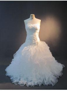 Beautiful Bridal Gown with Ruffled Skirt IMG_2705