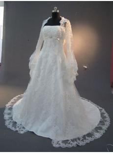 Bridal Gown Long Sleeves in Lace IMG_2266