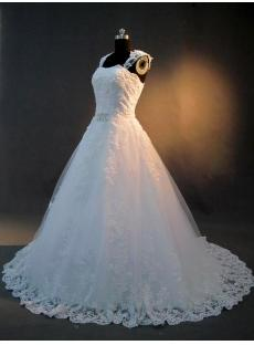Cinderella Bridal Gowns with Cap Sleeves IMG_2892
