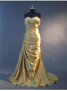 Gold Column Plus Size Prom Dress IMG_2226