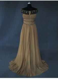 Illusion Neckline Vintage Evening Dress IMG_2666