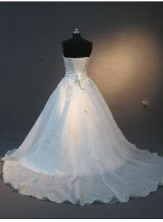 Ivory Beaded Romantic Princess Bridal Gown IMG_2252