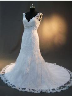 Lace Bridal Gown Timeless Classic IMG_2389