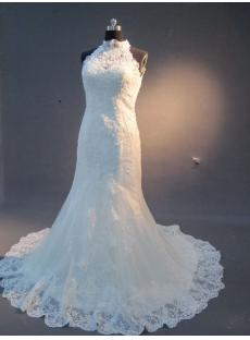 Lace Wedding Dresses with Keyhole Back IMG_2255