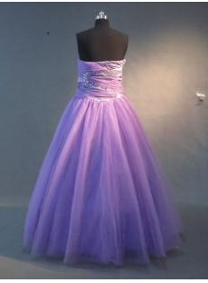 Purple Plus Size Ball Gown IMG_2230