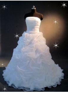 Ruffle Ball Gown Wedding Dress IMG_2192