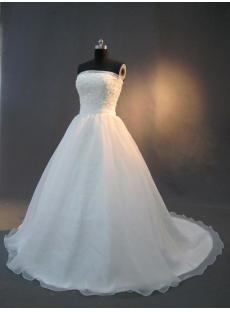 Simple Princess Wedding Dresses for Sale IMG_2860