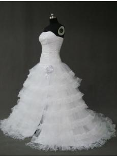 Split Organza Ball Gown Dress IMG_2484