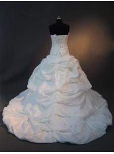 Taffeta Beautiful Affordable Formal Bridal Gown IMG_2576