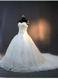 Top 2013 Luxurious Wedding Dresses with Cathedral Train IMG_2822