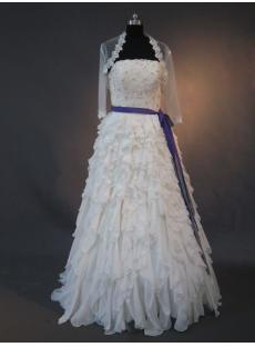 Vintage Mature Luxurious Bridal Gowns with Jacket IMG_2562