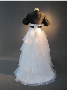 images/201301/small/White-Cheap-Pregnancy-Bridal-Gown-with-Black-Short-Jacket-IMG_2658-186-s-1-1359048908.jpg