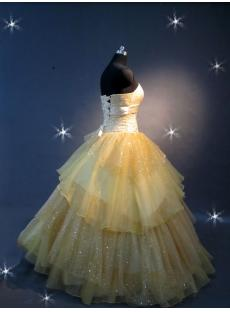 Yellow Tulle 15 Quinceanera Dresses IMG_2189