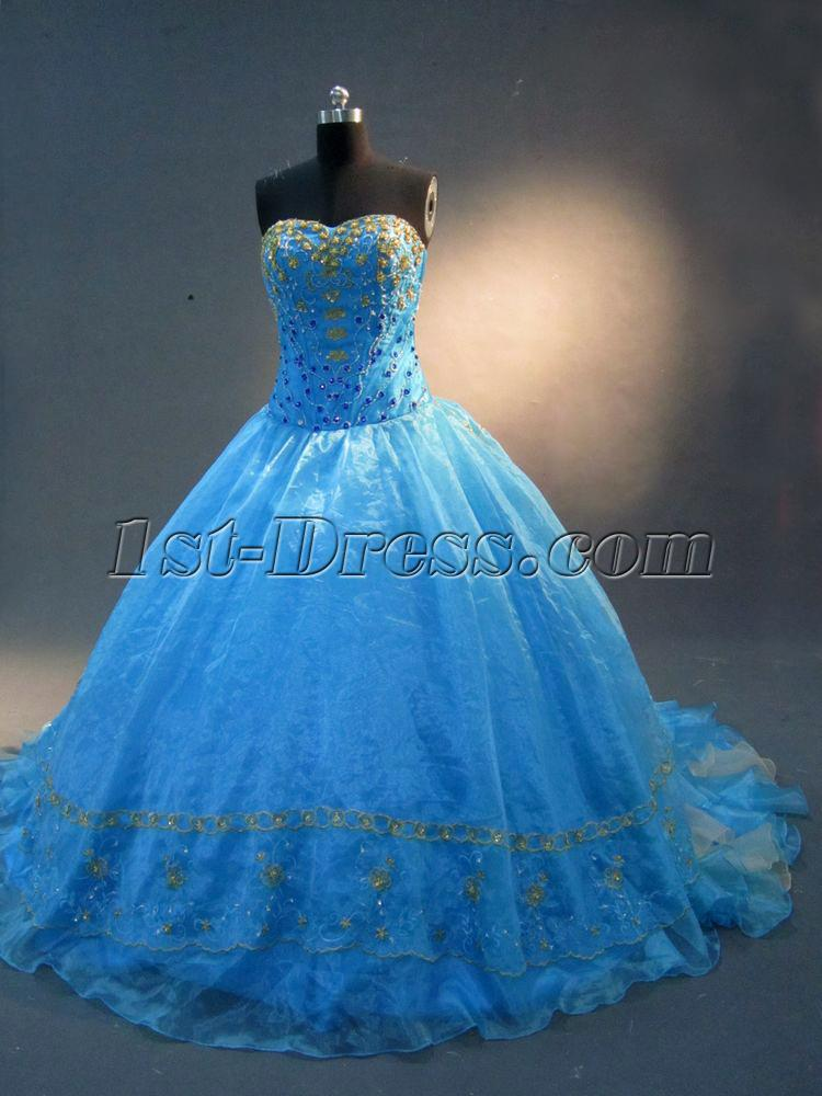 Blue and Gold Quinceanera Dresses 2012 IMG_2277:1st-dress.com