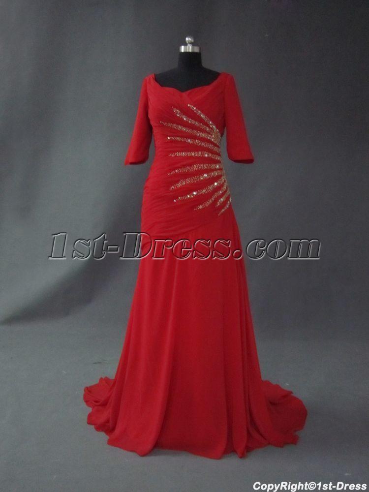 images/201301/big/Burgundy-Middle-Sleevs-Beaded-Inexpensive-Mother-of-Bride-Dress-IMG_2599-174-b-1-1358952377.jpg