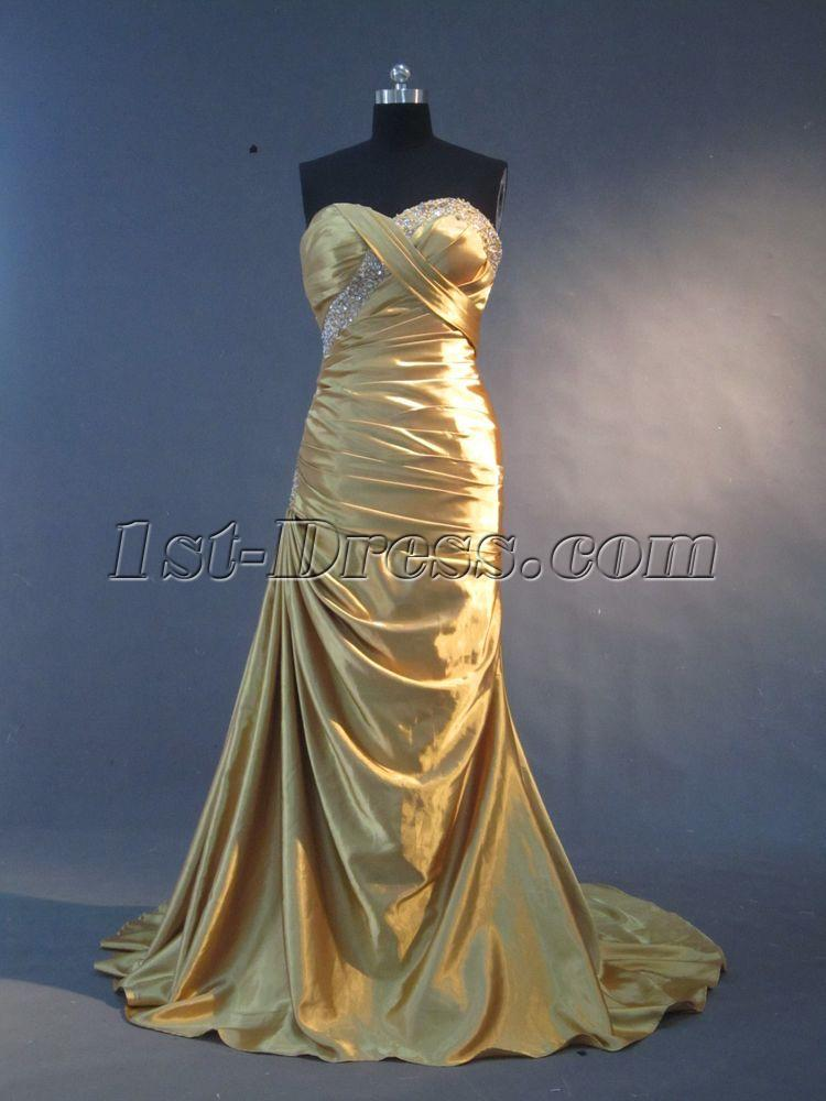 Gold Column Plus Size Prom Dress IMG_2226:1st-dress.com