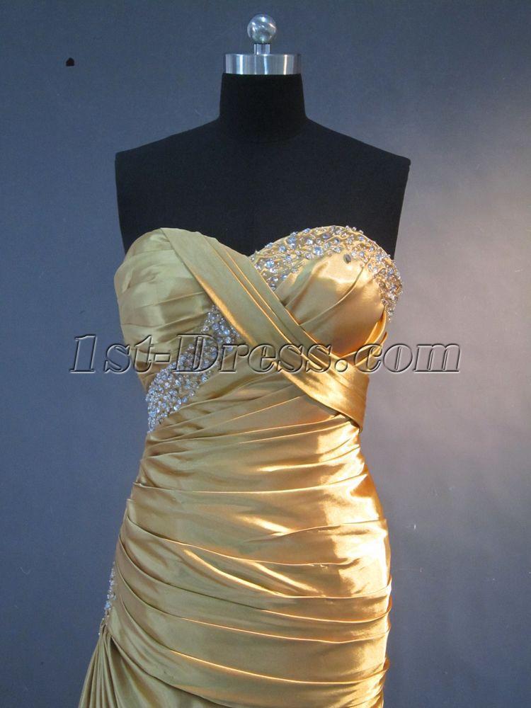 Gold Column Plus Size Prom Dress IMG_2226