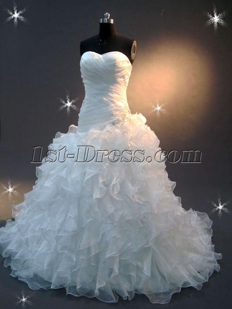 Ivory bridal gowns clearance sale img 2054 1st for Wedding dresses sale online