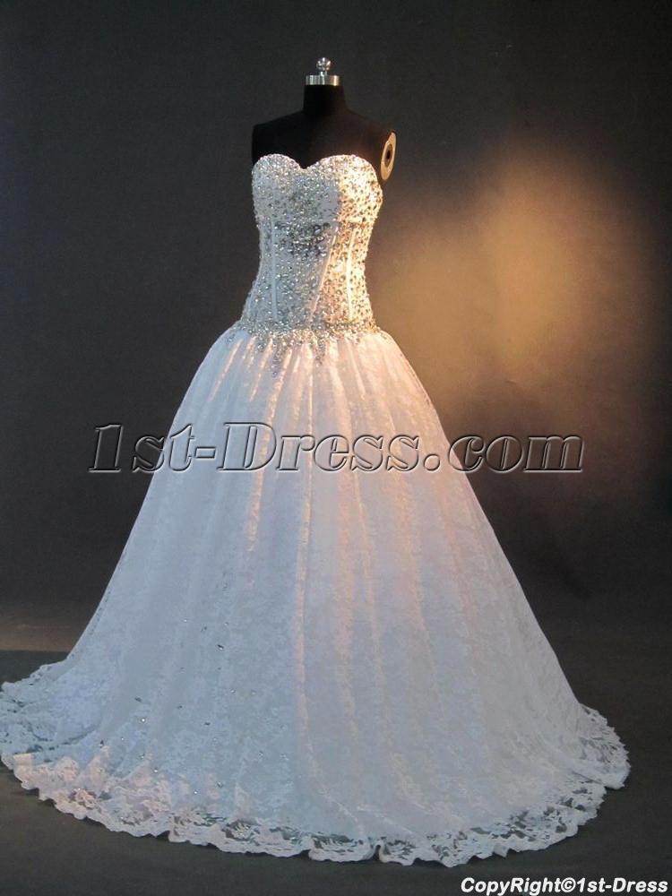 Luxurious Masquerade Quince Gown Dress IMG_2896:1st-dress.com