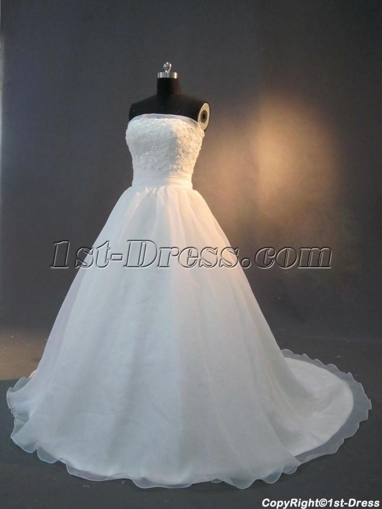 Simple Princess Wedding Dresses for Sale IMG_2860:1st-dress.com