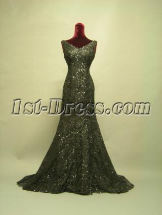 2013 Junoesque V-neckline Evening Dress 2681