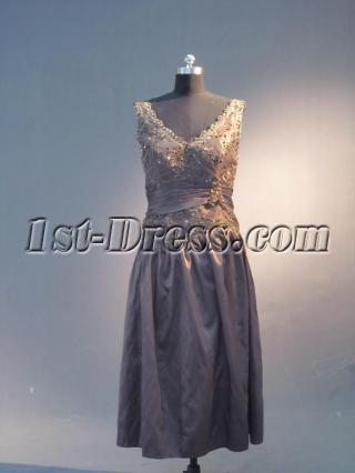 Black V-neckline Homecoming Dresses IMG_3986