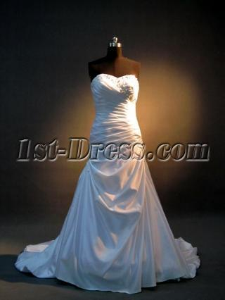 Column Beautiful Bridal Gowns Wedding Dresses IMG_3542