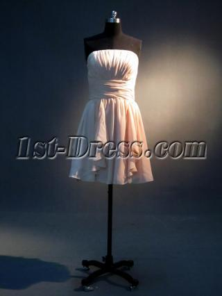 Cute Strapless Homecoming Dress IMG_3817