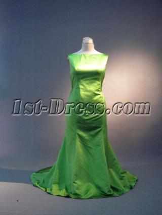 Elegant Green Plus Size Prom Dress IMG_3652