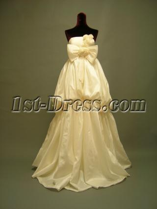Gorgeous Formal Maternity Bridal Gowns with Train 2693