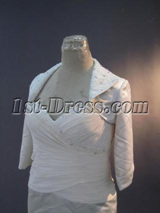 Knee Length Mother of Bride Dress with Jacket IMG_3282