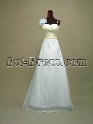 Light Sky Blue Cute 2011 Prom Dresses for Teenagers 3059