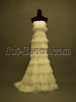 Multi-layer Sheath 2013 Bridal Gowns 230
