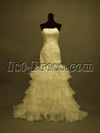 Romantic Merimaid Wedding Gown Dresses 351