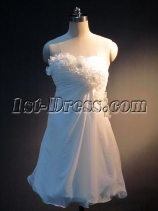 Simple Wedding Dresses for Short Women IMG_3980