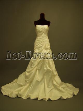 Slim Pick up 2012 Wedding Dresses 237