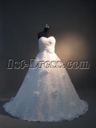 Sweetheart Romantic Beautiful Bridal Dress IMG_3680