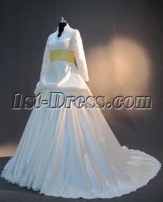 Winter Bridal Gowns with Long Sleeves IMG_3317