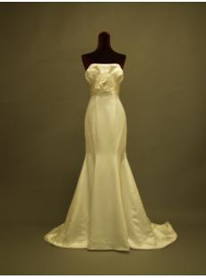 2012 Elaborate Sheath Simple Bridal Gown for Slim Lady 229