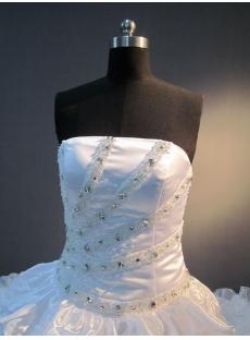 2013 Luxury Cathedral Train Ball Gown Wedding Dress IMG_3779
